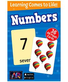 Pegasus Numbers AR Flash Cards for Children - 36 Flash Cards