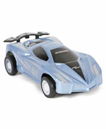 Back Force Simulation Racing Car - Blue