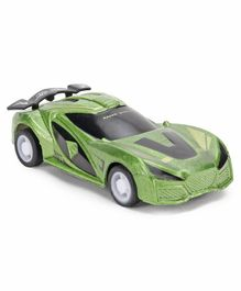Back Force Simulation Racing Car - Green