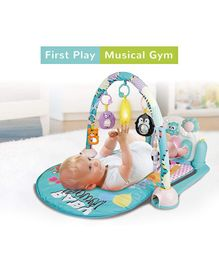 R for Rabbit First Play Musical Multipurpose Play Gym - Blue