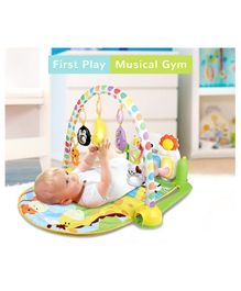 R for Rabbit First Play Musical Multipurpose Play Gym - Multicolour