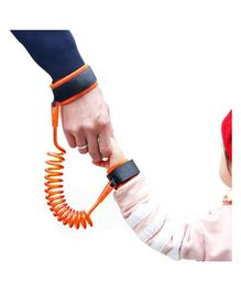 Anti Lost Baby Wrist Band - Orange