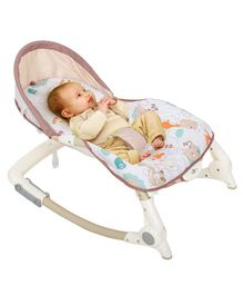 Baybee Toddler Portable Recliner Rocker Chair - Multicolour