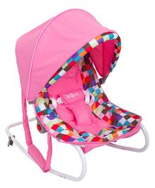 Baybee Multi Purpose Baby Carry Cot with Canopy - Pink