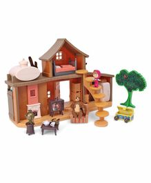 Simba Masha And The Bear House Play Set - Multicolor