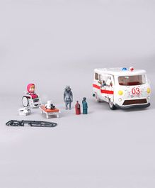 Masha And The Bear Ambulance Set - White