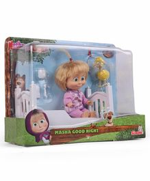 Masha & The Bear Goes To Sleep Pink - 12 cm
