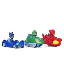 PJ Mask Super Heroes Vehicles Multicolor - Pack Of 3