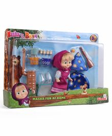 Masha And The Bear Home Set Multicolor - Height 12 cm