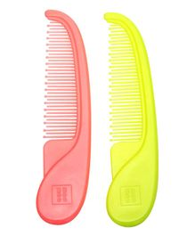 Mee Mee Easy Grip Baby Comb Pack Of 2 - Pink Green