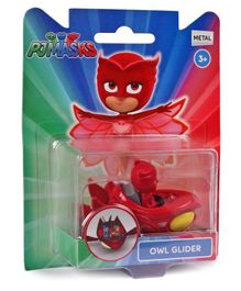 PJ Mask Owl Glider Figure - Red