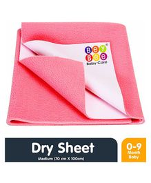 Bey Bee Crib Sheet Medium - Salmon Rose