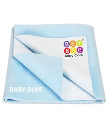 Bey Bee Crib Sheet Medium - Baby Blue