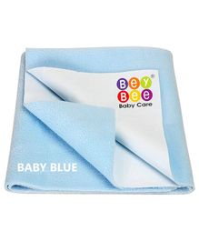 Bey Bee Crib Sheet Extra Large - Baby Blue