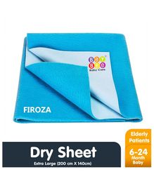 Bey Bee Crib Sheet Extra Large - Blue