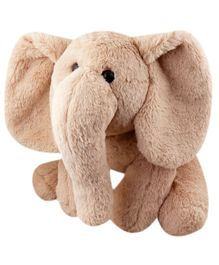 My NewBorn Elephant Soft Toy Brown - Height 38 cm