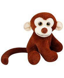My NewBorn Monkey Soft Toy Off Brown  - Height  35 cm