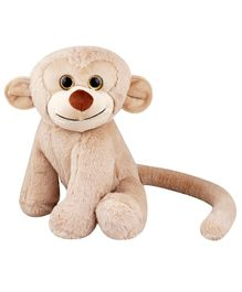 My NewBorn Monkey Soft Toy Off White  - Height  35 cm