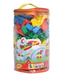 Peacock Kinder Blocks - 100 pieces