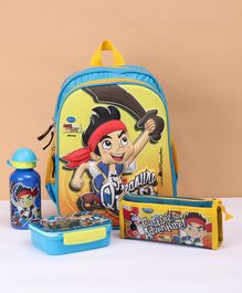 Disney Jake & The Neverland The Pirate School Kit - Blue Yellow