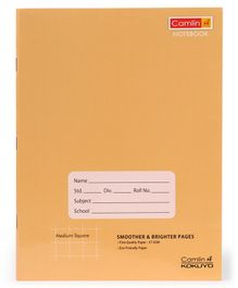 Camlin Square Notebook Brown - 180 Pages
