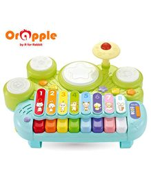 Orapple by R for Rabbit Musical Learning Station - Multicolor