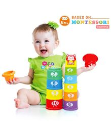 Orapple by R for Rabbit Stack It Stacking And Learning Cups Multicolor - Length 19.5 cm