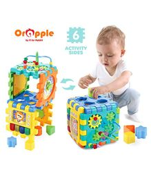 Orapple by R for Rabbit Little Master Activity Cube - Multicolor