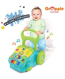 Orapple by R for Rabbit 5 in 1 Learning Push Baby Walker - Multicolor