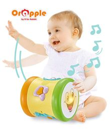 Orapple by R for Rabbit Musical Learning Drum - Multicolor