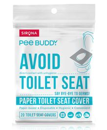 Pee-Buddy Flushable Toilet Seat Cover - 20 Seat Covers