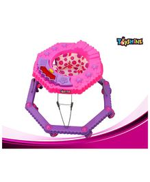 Toyshine 8 Bend Strong Walker with Music and Lights - Pink