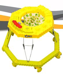 Toyshine 8 Bend Strong Walker with Music and Lights - Yellow