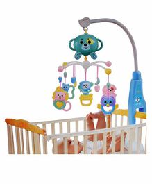 Planet of Toys Musical Rattle Cot Mobile For Cradle & Bed - Multicolor