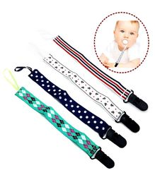 Syga Baby Teether Holder Belt Pack Of 4 - Multicolor
