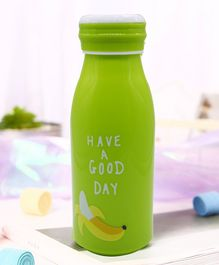 Syga Glass Milk Bottle For Baby Green - 300 ml