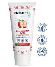 Curiosity & I Apple Cinnamon Swirls Essential Oil Body Wash - 200 Ml