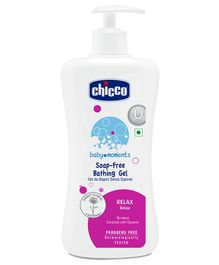 Chicco 100 % Soap Free Bathing Gel Relax - 500 ml