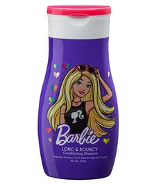 Barbie Conditioning Shampoo Long & Bouncy Purple - 200 ml