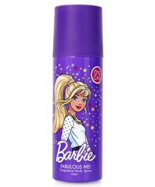Barbie Fabulous Me Fragrance Body Spray - Blue