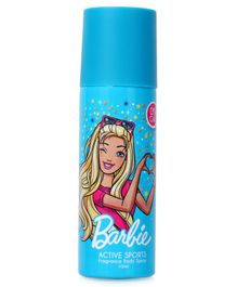 Barbie Active Sports Fragrance Body Spray - 100 ml