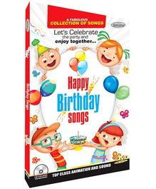 Future Books Happy Birthday Songs - DVD