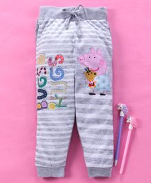 Eteenz Lounge Pants Peppa Pig Print - Grey