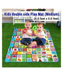 Skylofts Waterproof Double Side Play Crawl Floor Mat With Zip Bag (6 X 5 ft) - Multicolor