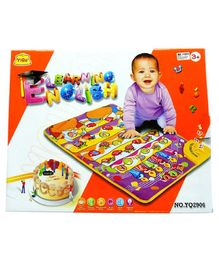 Skylofts Music A-Z Alphabet Learning Play Mat - Multicolor
