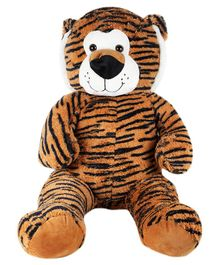 Skylofts Tiger Soft Toy Brown - Height 100 cm