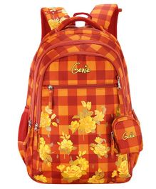Genie Primrose Backpack Orange - 19 Inch