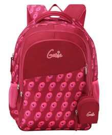 Genie Allure Backpack Purple - 16 Inch