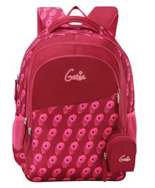 Genie Allure  Backpack Purple - 18 Inch
