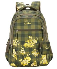 Genie Primrose Backpack Green - 19 Inch